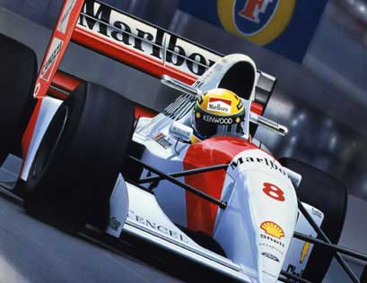 Formula 1 Artwork Collection The Gavin MacLeod Collection