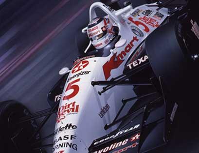 Penske Honda Indianapolis >> CART Indy Car artwork - The Gavin MacLeod Collection